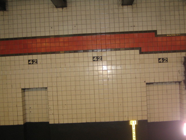In the New York City Subway System. Picture: Sólrún Ósk Lárusdóttir