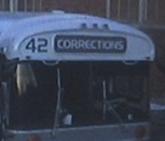 Prison bus number 42 in the movie Fugutive.