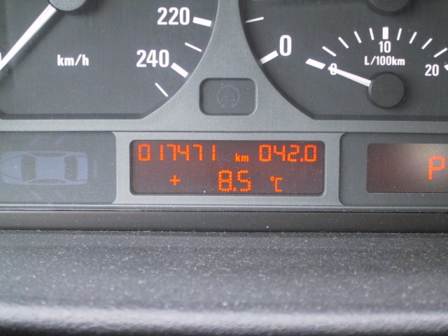 The trip meter on the car while hunting houses numbered 42.