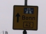 The road to Bonn (Germany)
