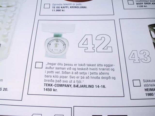 Item #42 on some magazine's Xmas wishlist